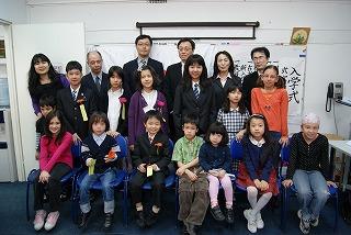2010年入学式