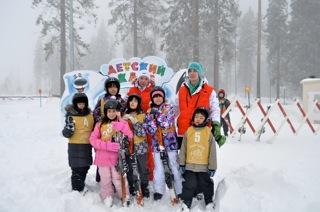 スキー遠足2011